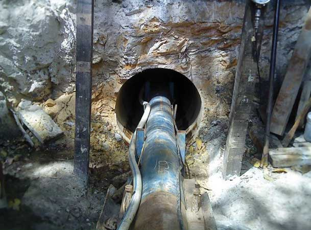 Freebore Microtunneling Pezzimenti