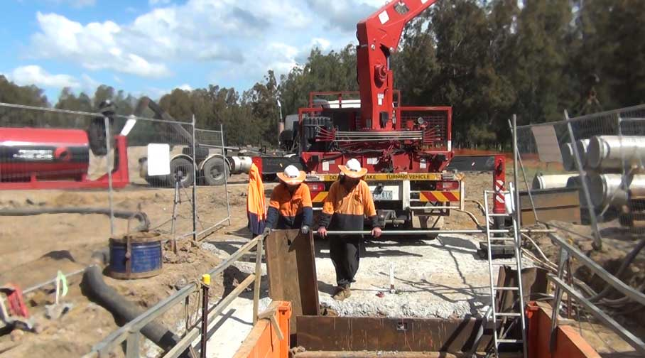Pipejacking Microtunnelling St Clair