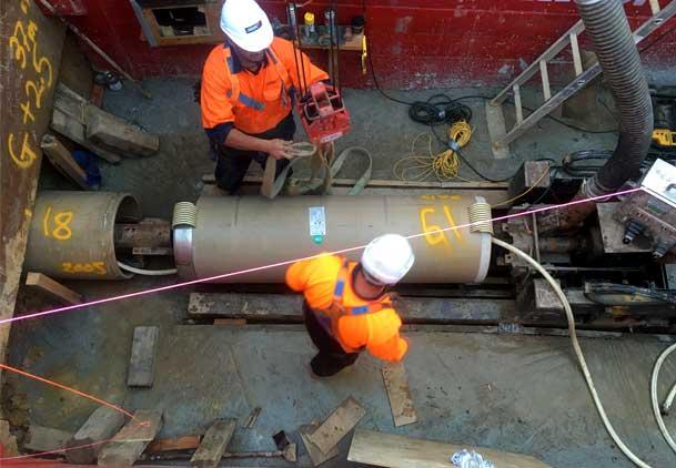Mount Druitt Microtunneling Pezzimenti Tunnelbore Sliplining the Carrier