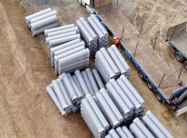 Oran Park Pezzimenti Tunnelbore Microtunneling GRP Carrier Pipes