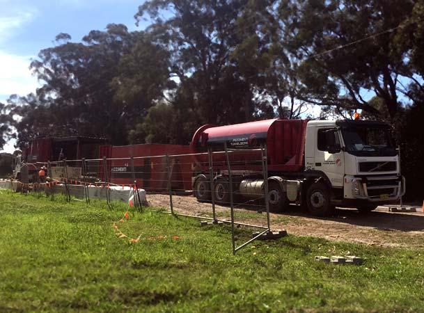 Menangle Pezzimenti Tunnelbore Microtunnelling Site Setup