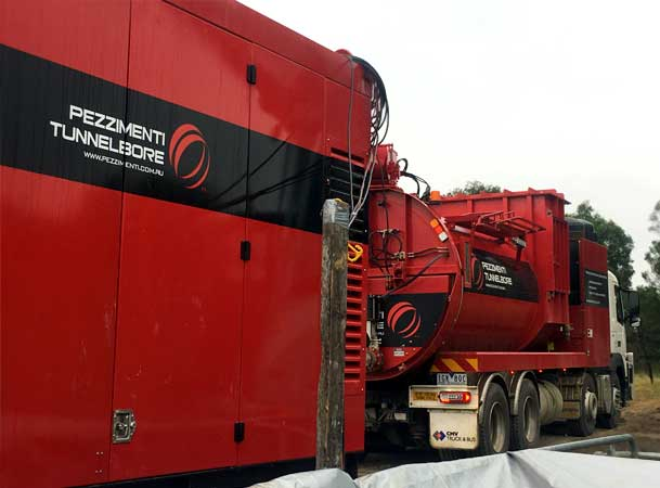 Rileys Creek Pezzimenti Vacuum Truck and Power Unit