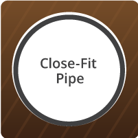 Microtunneling Close-Fit Pipe Icon