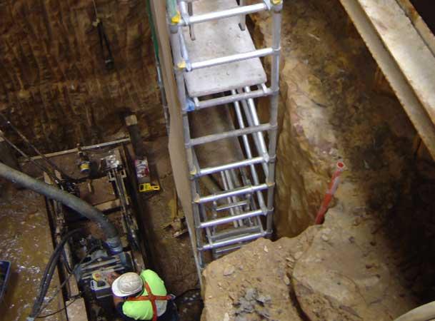 Appin Microtunneling Pezzimenti deep shaft