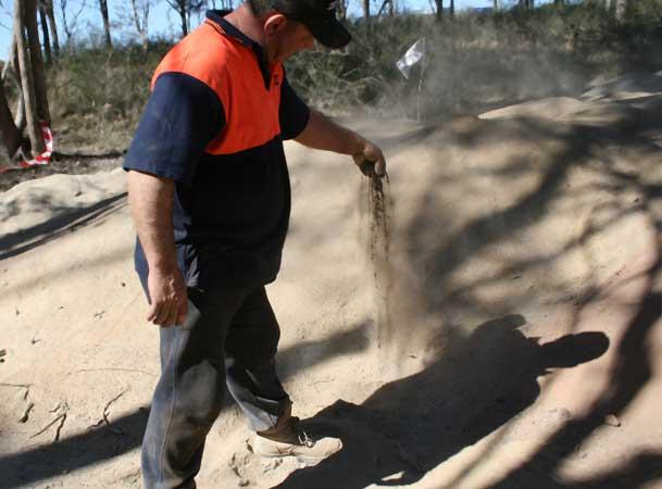 Harrington Grove Pezzimenti Microtunneling Completely Dry Spoil