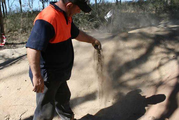 Harrington Grove Pezzimenti Microtunneling Dry Spoil