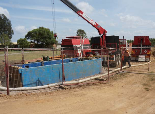 Kellyville microtunneling pezzimenti site layout