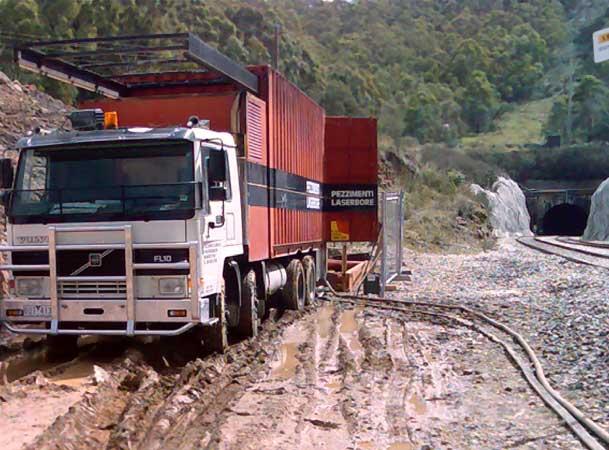 Marrangaroo Microtunneling Pezzimenti Site Setup Railway Tracks Tunnel