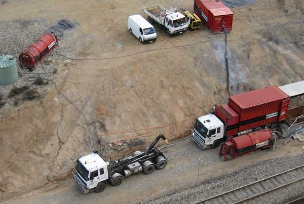 Marrangaroo Pezzimenti Microtunneling Site Layout Feature