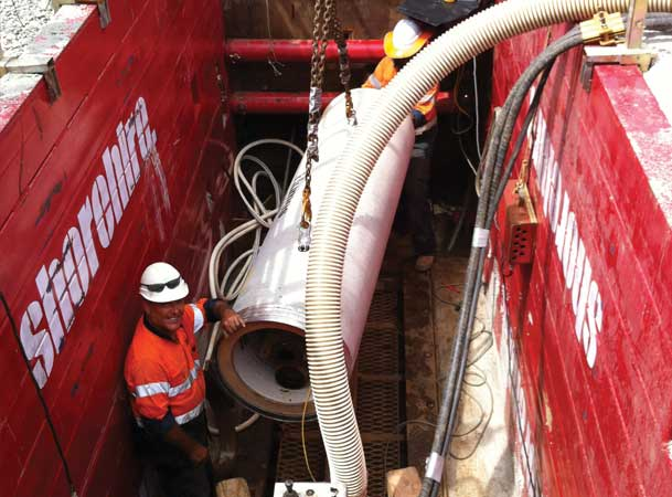 Rootyhill Microtunneling Under Railway Jacking Pipes
