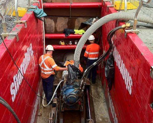 Rootyhill Microtunneling under railways pezimenti