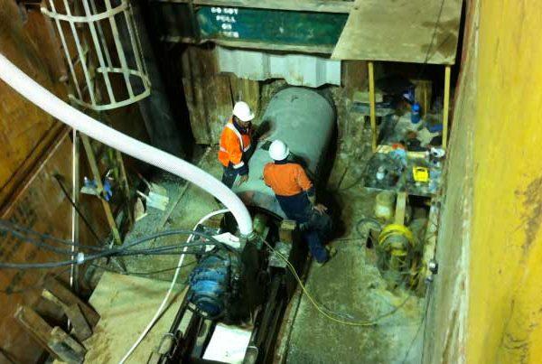 Sydenham Pezzimenti Microtunneling Under Railways