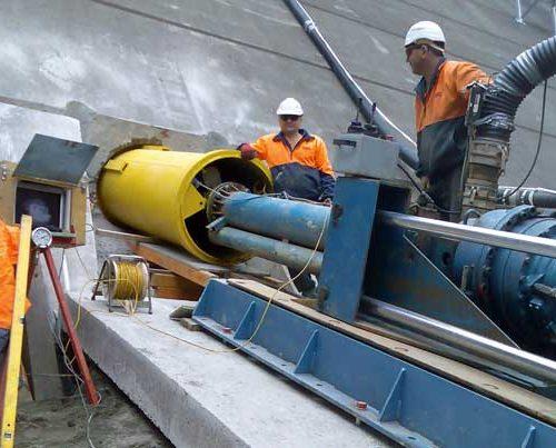 Tallowa Dam Pezzimenti Microtunneling Feature