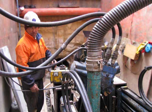 Blackheath Microtunnelling Pezzimenti Tunnelbore operator