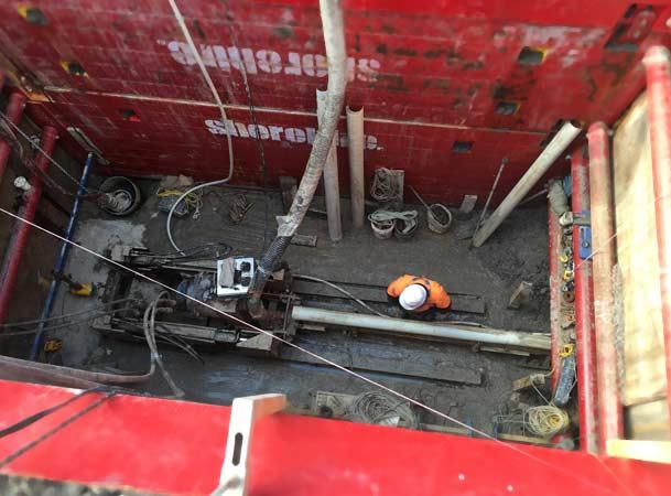 Menangle Pezzimenti Tunnelbore Shaft while Operating
