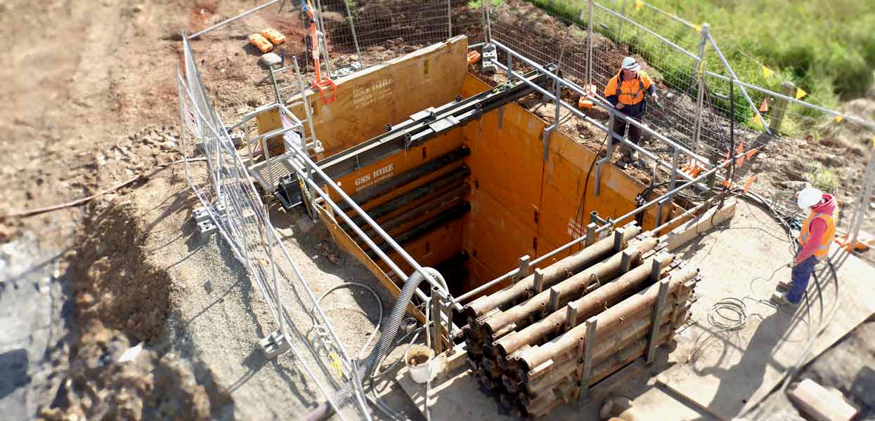 Leppington Pezzimenti Microtunnelling Shaft