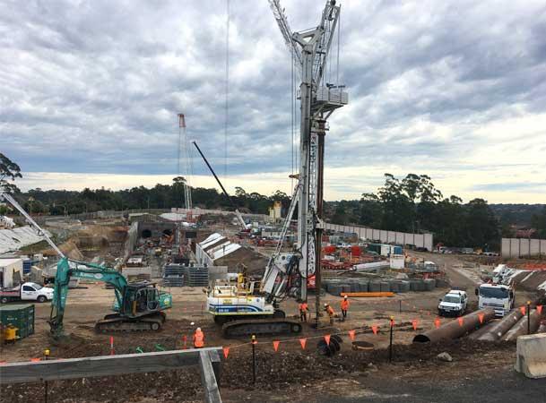 Microtunnelling Cherrybrook Development