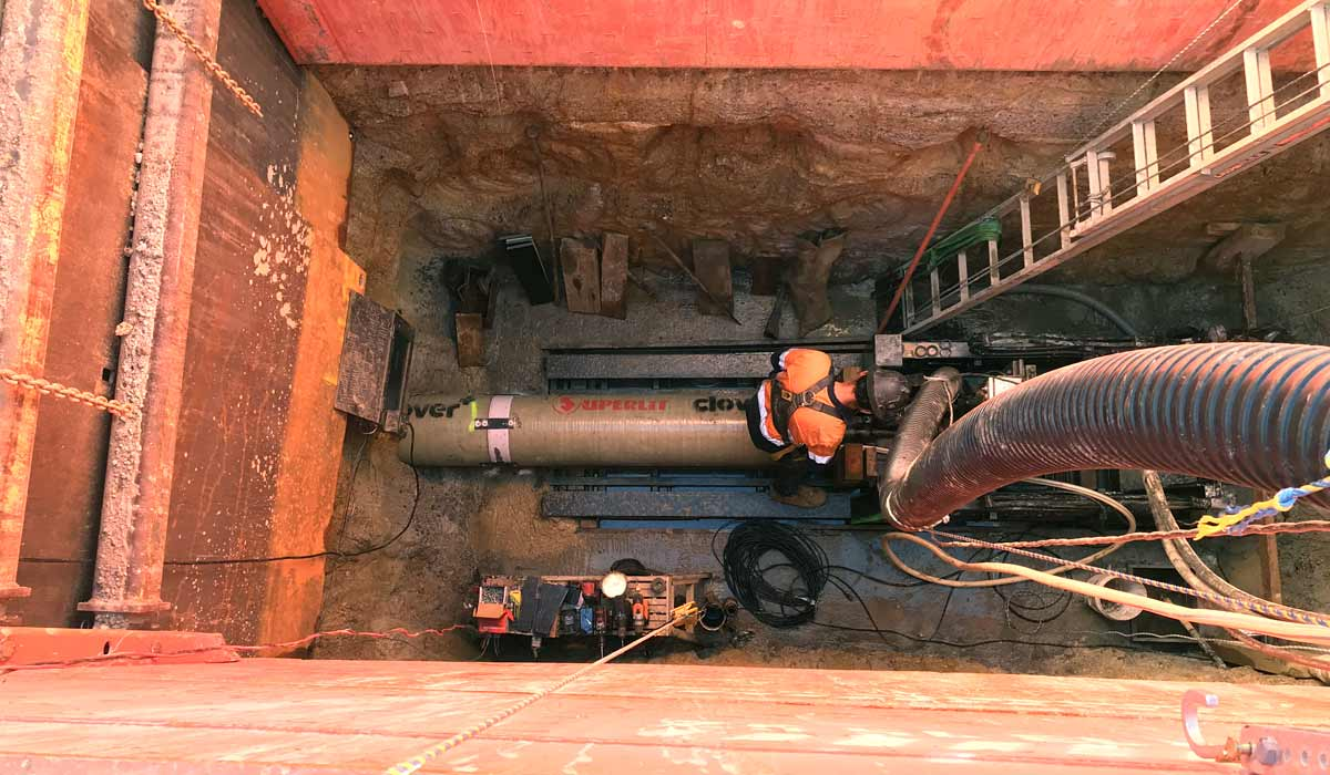 Pezzimenti Microtunnelling Feature Project Wyee