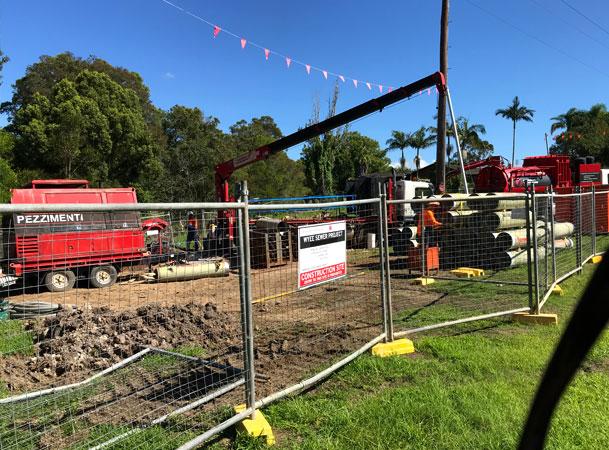 Wyee Microtunnelling Pezzimenti Railway Site Setup