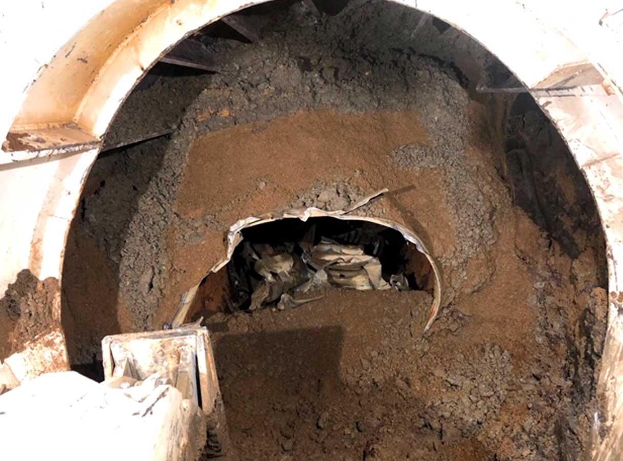 Gundagai Culvert Replacement Pezzimenti Old Culvert Collapse