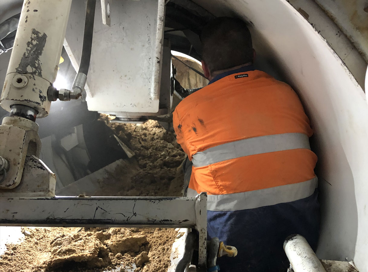 Penrith Open Shield Microtunneling Piloted